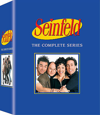 Seinfeld - The Complete Series Season 1-9 (DVD, 2017, 33-Disc Box Set) Brand New