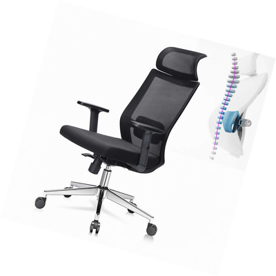 Phenomenal Ej Life Ergonomic Office Chair High Back Mesh Desk With Gmtry Best Dining Table And Chair Ideas Images Gmtryco