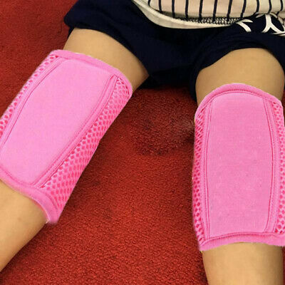 Anti-fall Knee Breathable Mesh Kids Protection Kneepad Adjustable Crawling N7