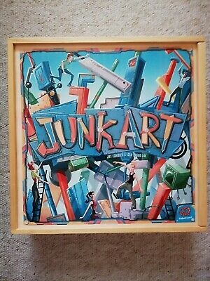 Junk Art Wooden Box Exclusive Edition Board Game