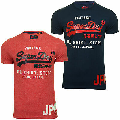 Superdry Mens 'Shirt Shop Duo' T-Shirt