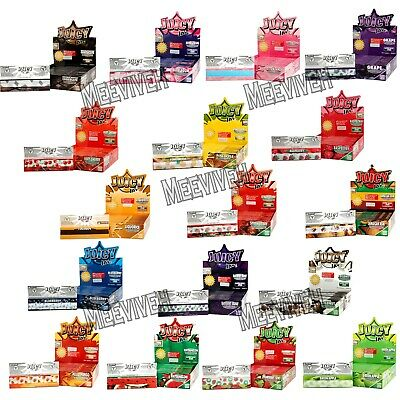 Juicy Jays Flavoured King Size Rolling Papers Smoking Tobacco Paper Flavours Box