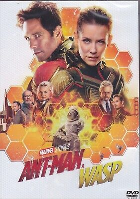 Dvd Marvel ANT-MAN and the WASP ~ Ant-man 2 Neu versiegelt 2018