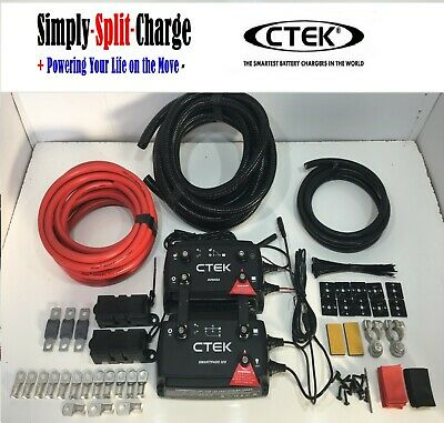 CTEK D250SA Dual 20amp DC-DC Charger Smartpass120 Leisure Battery Charging Kit