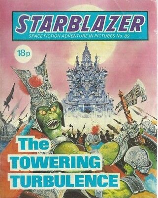 The Towering Turbulence,no.89,starblazer Space Fiction Adventure In Pictures