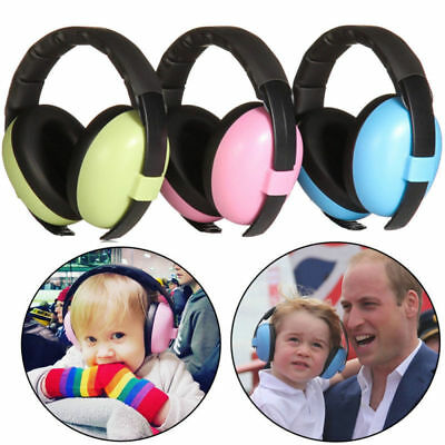 Kids Childs Baby Infant Ear Muff Defenders Noise Reduction Comfort Protection