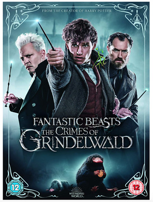 Fantastic Beasts: The Crimes of Grindelwald UK DVD Region 2 Stock 2019 Brand New