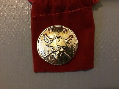 "2oz YPS ""Jolly Roger"" 999+ fine silver bullion ""Yeager's Poured Silver"""