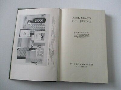 Book Craft In For Juniors -- Vintage 1955 Book