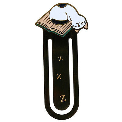 Black Mini Creative Pet Cat Book Mark For Stationery Office School Supplies N7