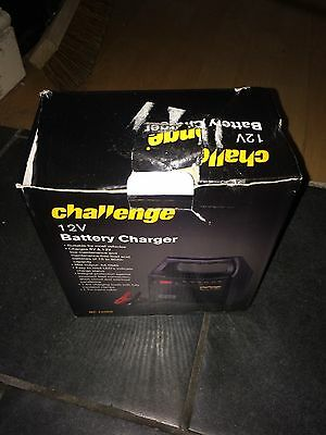 Challenge 6V/12V Automatic Car Battery Charger. BC 1206S