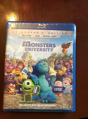 Monsters University (Blu-ray + DVD - *No Digital, Collectors Edition)free shipp