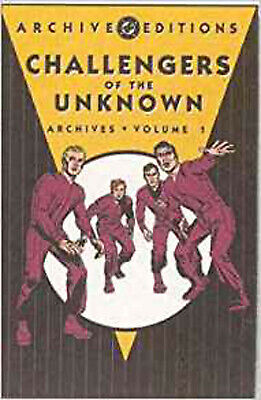 Challengers Of The Unknown Archives HC Vol 01 (DC Archive Editions), Wood, Dave,