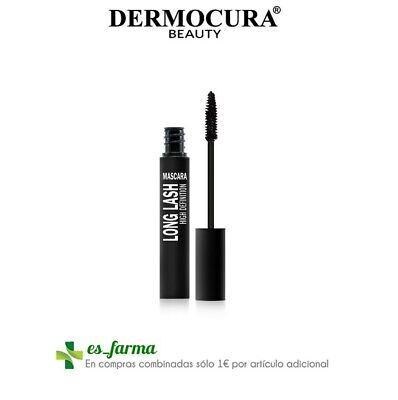 Dermocura Mascara Pestañas Long Lash High Definition Negro 12G Black Mask Lashes