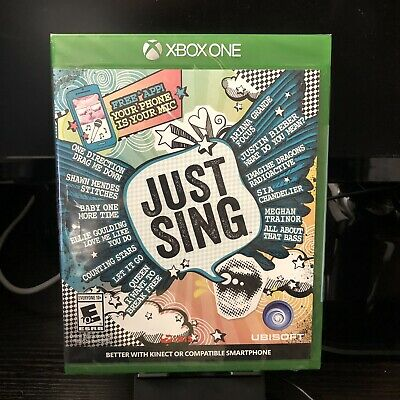 Microsoft Xbox One | Just Sing | Brand New - SEALED