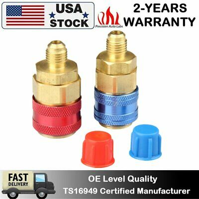 Pack of 1 Interdynamics QFL-3 R-134a Blue Air Conditioning Low Side Quick Coupler