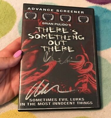 There's Something Out There  DVD Brian Pulido. Rare• Oop* Horror Gore