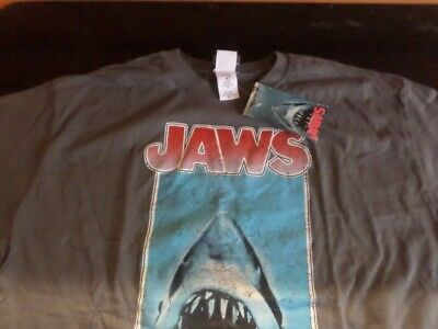 Jaws - Distressed Poster - Official Mens T Shirt