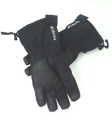 52055cfb3 MEN'S COLUMBIA BLACK Ski Snow Gloves Insulated Size XL - $24.99 ...