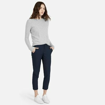 $98 Everlane The Slim Wool Trouser Pant~Navy~Work / Career~Size 4 / Small~Nwot