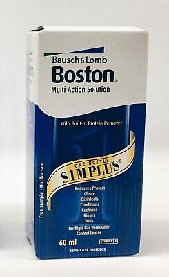 BOSTON SIMPLUS Multi Action Solution 60ml Hard Gas Permeable Lenses only
