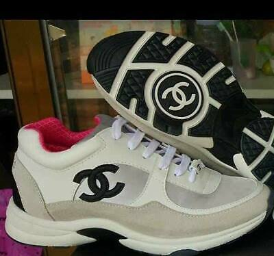 CHANEL  Sneakers Trainers Shoes SIZE 36.5 NEW IN BOX