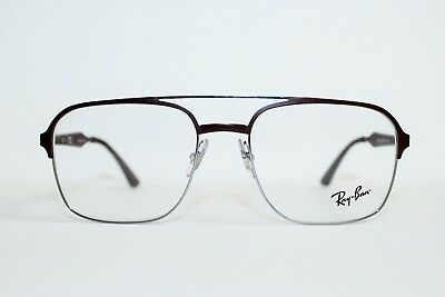 b189eaf4fd1 New Authentic Ray-Ban Rb 6404 2912 Brown Silver Frames Eyeglasses 54Mm  Rb6404 Rx