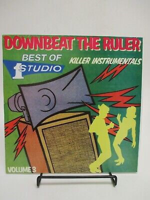 """Downbeat The Ruler: Killer Instrumentals, Best of Studio One, Vol. 3"" LP Reggae"