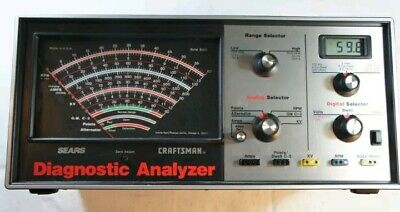 DA7160 Vintage Sears Craftsman Diagnostic Analyzer Auto Engine Tune-Up Repair