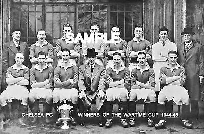 Chelsea FC 1945 Cup Team Photo