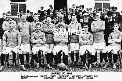 Linfield FC 1905 Team Photo