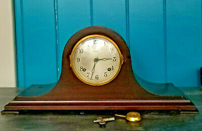 Antique  Ansonia Clock Co PRECISIA #4 Tabour Mantle Clock  8 Day