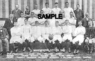 Manchester City FC 1900 Team Photo