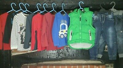 Boys clothes bundle age 3-4 years, Tops, Jeans, Ralph, Next & more