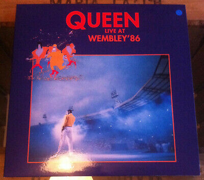 Queen - Live at Wembley ´86 - Limited 2LP BLUE Colored Vinyl - New - Very Rare!