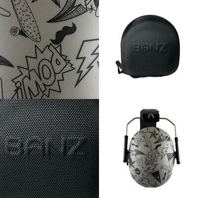 Banz Kids Earmuffs and Case Graffiti / Onyx