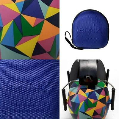 Banz Kids Earmuffs and Case Kaleidoscope / Lapis Blue