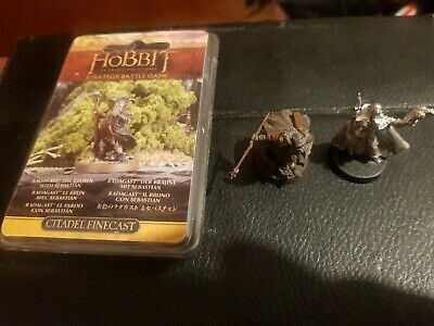 The Lord of The Rings LOTR The Hobbit Radagast 3 poses rare oop Limited Edition