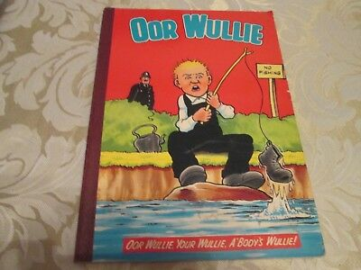 Oor Wullie Annual 1980  Very Good Condition