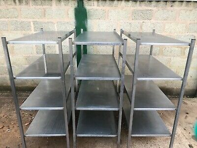 Stainless Steel Catering Shelves