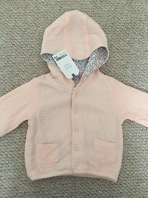 Next Up To 1 Month Baby Girl Coat Bnwt