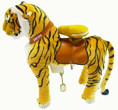 PonyCycle Ride On Toy Tiger Medium Size for Ages 4-9 Years