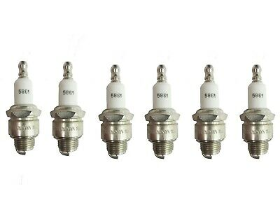 Champion 5861 RJ19LM  Small Engine EZ Start Spark Plug Pack of 6
