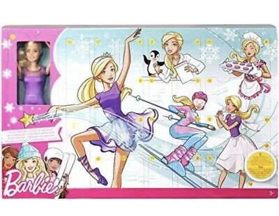 Barbie Advent Calendar Brand New  Doll And Clothes