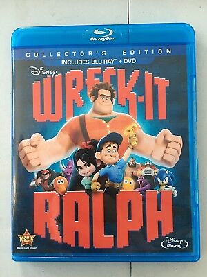 Wreck-It Ralph Collector's Edition (Blu-ray/DVD, 2013, 2-Disc Set)