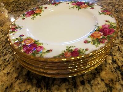 Royal Albert Old Country Roses New W/Tag 6 inch Bread & Butter Plate 8 Available