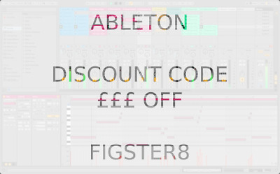 Ableton Live Intro, Standard or Suite - £40 off discount code