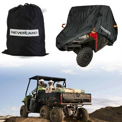 SidexSide 300D Waterproof Utility Vehicle Cover For Polaris Can-Am Yamaha Honda