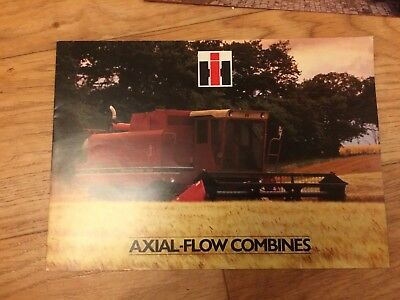 INTERNATIONAL Axial Flow Combines Ag1420-1480SALES BROCHURE Case, Ford Barn Find