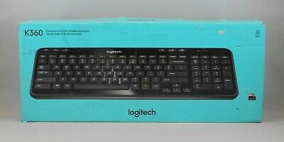fce998db698 Logitech K360 Compact and Slim Wireless Keyboard with Unifying Receiver